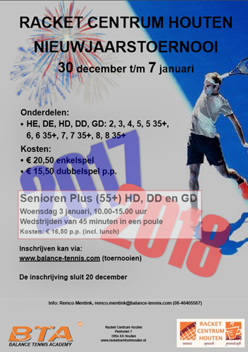 Ronald De Bruin Houten.Balance Tennis Academy De Tennisschool Van Midden Nederland